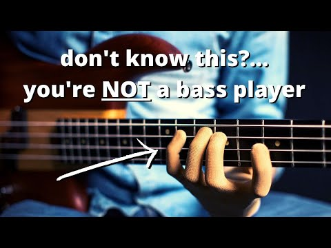 The ONE bass line EVERY bass player should know