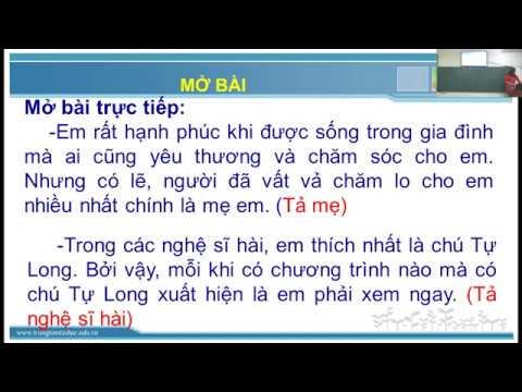 Tập làm văn lớp 5 - Ôn tập văn tả người - Gv Trần Thị Vân - Trường TH Phan Thiết.