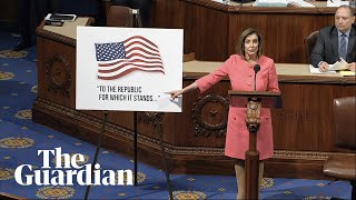 House of Representatives votes to send articles of impeachment to Senate – watch live