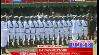 President Uhuru Kenyatta graces KDF recruits pass out parade in Eldoret