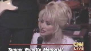 Tammy Wynette Memorial - Dolly Parton