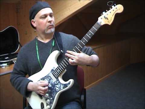 Andy Baker - Chromatic progressions, scales and chords - Fusion Guitar