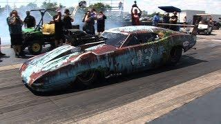 PRO MODIFIED Drag Racing - Tulsa Raceway Park