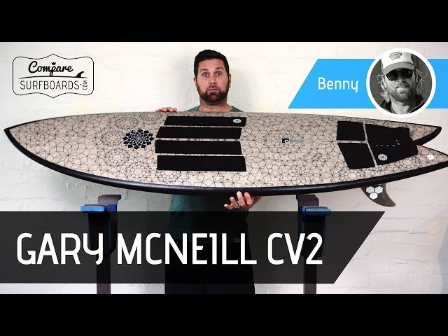 Gary McNeill CV2 Treetech ECO Surfboard Review | Compare Surfboards