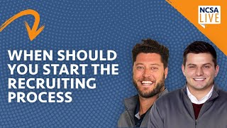 When Should You Start the College Recruiting Process?