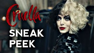 CRUELLA Official Sneak Peek Trailer Call Me Cruella (2021) Emma Stone Comedy Adventure HD by CinemaBox Trailers