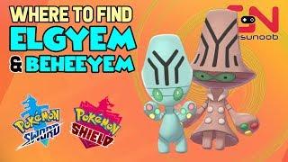 Elgyem  - (Pokémon) - Where to find Elgyem & Beheeyem - How to Evolve - Pokemon Sword and Shield Evolution
