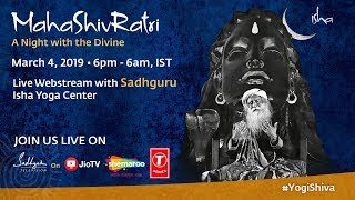 Live Webstream with Sadhguru