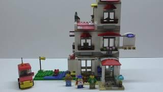 Сборка дома №2 из Конструктора LEGO Creator Загородный дом