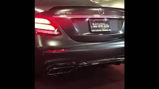 2018 Mercedes E63s Edition 1 Exhaust Sound