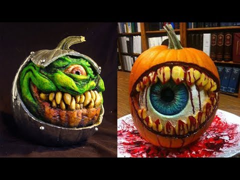 The Best Pumpkin Carvings EVER!