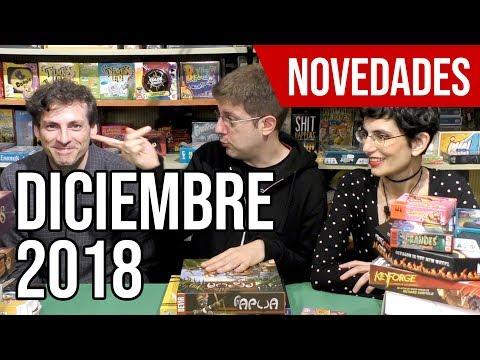 Novedades de juegos de mesa | Diciembre 2018