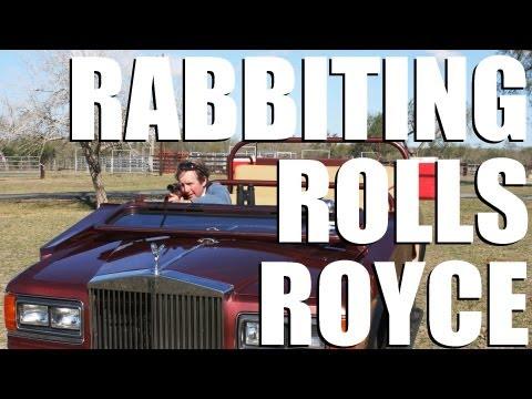 Rabbiting Rolls Royce – ultimate Texan hunting vehicle