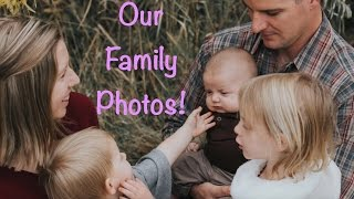 FALL FAMILY PHOTOS!!