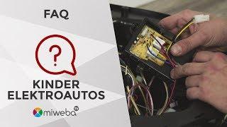 FAQ | Mercedes ML 350 | Kinder Elektroauto | Deutsch