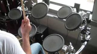 Beginner Rock Beat EASY Drum Lesson