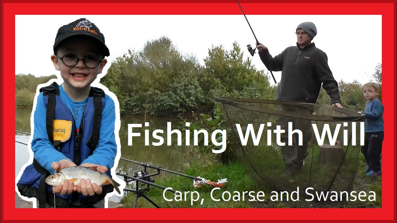 Fishing with Will - Carp - Pike - Coarse. Carp, Coarse and Swansea Video 132