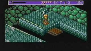 Sega Genesis - Landstalker Gameplay