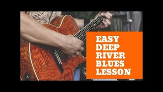Deep River Blues Guitar Lessons - Doc Watson