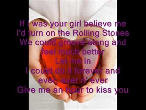 Lyrics of wish i was your lover