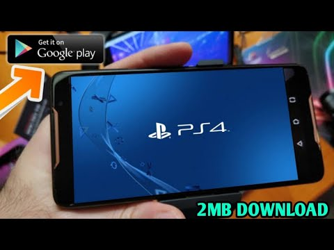 PS4 FOR ANDROID/IOS |DOWNLOAD NOW| How to play Ps4 Games On Android