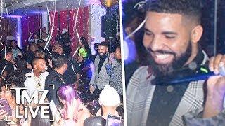 Drake Rings In 2019 Like A King | TMZ Live