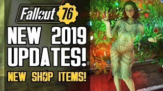 Fallout 76 - NEW 2019 UPDATES! New Patch, Shop Items! Lunchboxes - What Are They Really?