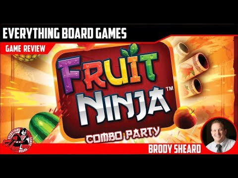 Everything g Board Games Fruit Ninja Unboxing and Review