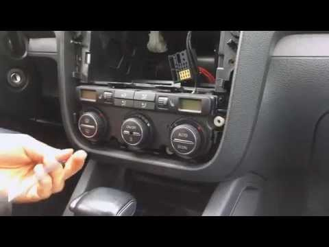 VW Golf 5 - Climatronic reset ventilation flaps how to