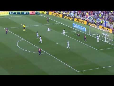 First Half | FCB 2-0 Boca | Malcom & Messi