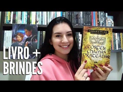 UNBOXING - CORTE DE CHAMAS PRATEADAS | Paixão Literária