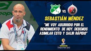 Cali 2-0 Cúcuta: Sebantián Méndez, Rueda De Prensa I Deportes RCN