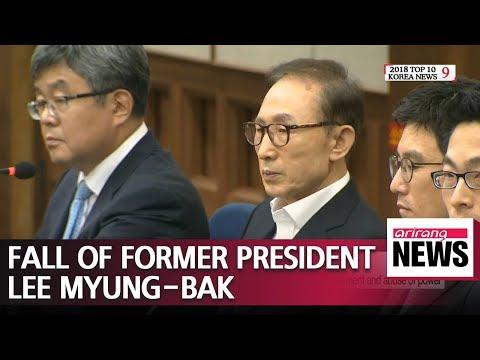 Former President Lee Myung-bak sentenced to 15 years in prison