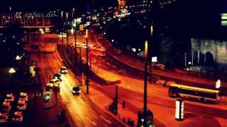 preview picture of video 'City Street Lights at Night in Europe'