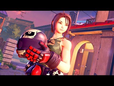 Street Fighter V : Présentation de Akira Kazama
