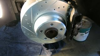 How To Replace Front Rotors - BMW E65 E66
