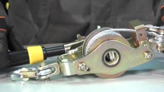 Лебедка ручная с блоком для СИП 1500 кг от компании VL-Electro - видео