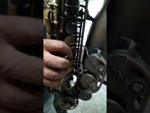 Saxofone Alto Eastman Envelhecido