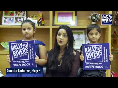 Amrutha Fanidas for Rally for Rivers