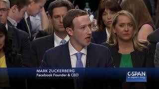Facebook CEO Mark Zuckerberg complete Opening Statement (C-SPAN)