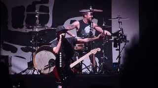 """A Love Like War"" LIVE All Time Low ft. Vic Fuentes of PTV HOUSE PARTY TOUR San Jose 9/20/13"