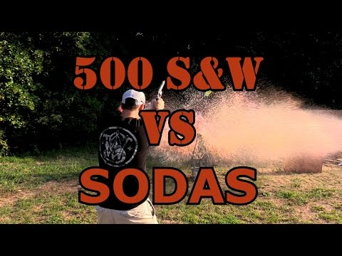HOW MANY 2 LITERS WILL A 500 S&W GO THROUGH?