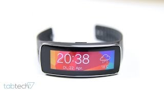 Review: Samsung Gear Fit im Test | tabtech.de
