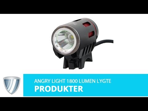Angry Light 1800 lumen low beam +high beam video