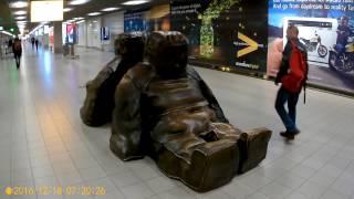 18 12 2016  Амстердам, аэропорт, отель