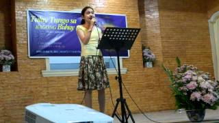 What More Could He Do by Honey Tabuldan @ CAA Church   April 30, 2012