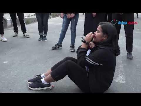 बलात्कारविरुद्ध माइतीघरमा सडक नाटक