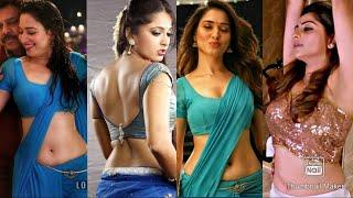 South Indian Actresses Hot Navel Compilation | Tamannah | Anushka | Rachitha Ram | Charm Kaur
