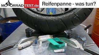 Reifenpanne - was tun? | Reifenreparatur unterwegs mit dem Pannenset für schlauchlose Reifen