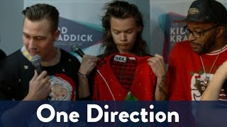 One Directions Ugly Christmas Sweaters!
